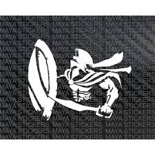Spartan Warrior Vinyl Decal Sticker For Cars Bikes And Laptops Spartan Warrior Spartan Tattoo Unique Drawings