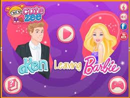 dress up games ken leaves barbie game