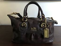 coach 14297 copper leather madison lth