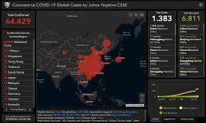 Coronavirus, dati in tempo reale: 1.383 morti e 64mila contagi ...