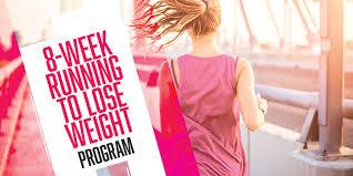 weight loss 8 week training schedule