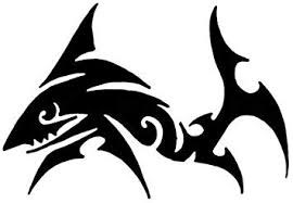 Amazon Com Ranger Products Tribal Shark Decal Sticker Die Cut Vinyl Decal For Windows Cars Trucks Tool Boxes Laptops Macbook Virtually Any Hard Smooth Surface Automotive