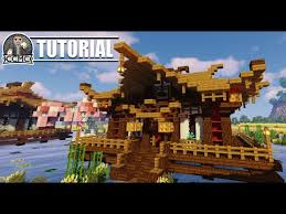 Minecraft Tutorial Oriental House Or Temple How To Build Oriental Chinese Japanese Youtube
