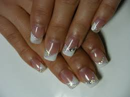 French Gel Manicure With Design Besice