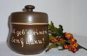 Bautzner Senftopf Keramik - Senfnäppel- m. Ba... | markt.de ...