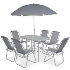 vidaxl outdoor dining set 6 8 piece