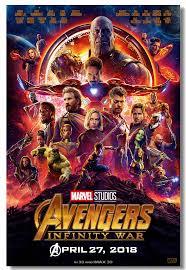 Custom Canvas Wall Decor Avengers Infinity War Poster Marvel Infinity War Wallpaper Hulk Thanos Wall Sticker