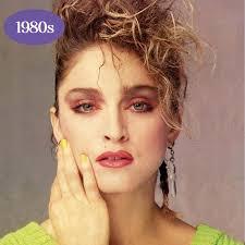 1980s makeup trends makeup