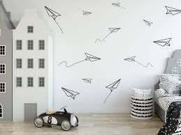 Paper Planes Wall Decal Boys Room Decals Wall Decor Paper Etsy In 2020 Boy Room Wall Decor Boys Room Decals Vinyl Wall Decals Boys Room