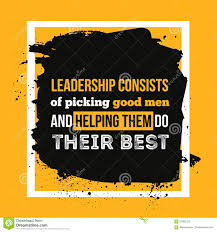 leadership quote typography card colorful background for