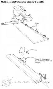 Miter Saw Fence Plans Miter Saw Mitered Fence Planning