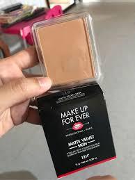 matte velvet skin blurring powder