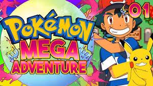 Pokemon Mega Adventure Fan Game Part 1 Ash Ketchum Gameplay ...