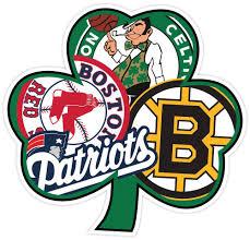 Boston Fan Sport Flag Irish Vinyl Sticker Decal Bruins Patriots Celtics Red Sox Sports Flags Patriots Logo Patriots