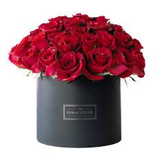 بوكس ورود طبيعية حمراء اللون من فلورانا المنصورة Florana بوكس