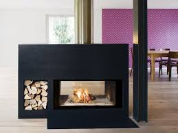 double sided wood burning steel