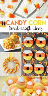 11 candy corn treat and craft ideas