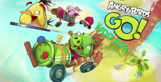 Angry Birds Go MOD APK Hack Unlimited Coins, Gems