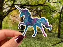 Waterproof Unicorn Vinyl Sticker Unicorn Laptop Decal Unicorn Etsy