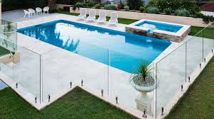 Types Of Pool Fencing As Well As Fencing Rules And Regulations In Melbourne In 2020 Cheap Inground Pool Pool Patio Designs Glass Pool Fencing