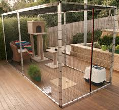 Safety Outdoors For Cats Diy Cat Enclosure Outdoor Cat Enclosure Cat Cages