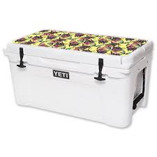 Skin Decal Wrap For Yeti Tundra 65 Qt Cooler Lid Sticker Electric Cicada Walmart Com Walmart Com