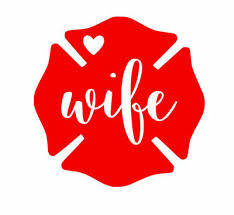 Fire Wife Firefighter Heros First Responders Car Decal Multiple Colors 4 Inch Ebay