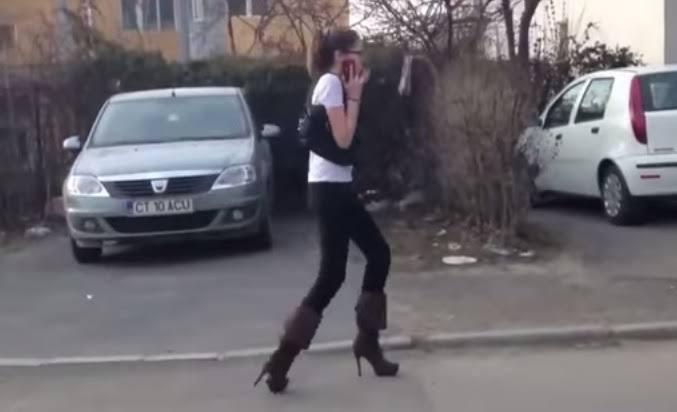 """Resultado de imagem para mulher que não sabe andar de salto"""""""