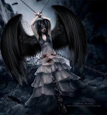 Pin by Ivy McDonald on Black Angel... nice art... | Gothic angel, Beautiful  dark art, Dark fantasy art