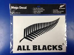 All Blacks Merchandise Memorabilia All Blacks Mega Logo Sticker Black