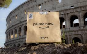 Amazon Prime Now a Roma: ecco i 54 CAP raggiunti