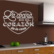 Wall Stickers Spanish Cocina Heart Vinyl Wall Mural Decal Kitchen Wall Decals Home Decor House Decoration Art Wallpaper Dw1051 Kitchen Wall Decal Wall Stickerwall Sticker Spanish Aliexpress