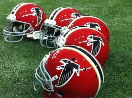 Image result for atlanta falcons red helmets