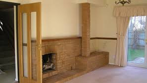 how to remove soot from a brick fireplace