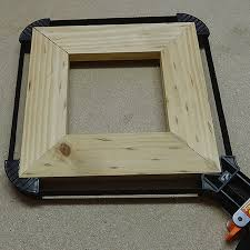 easy wooden picture or photo frame