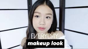 easy everyday korean style makeup you