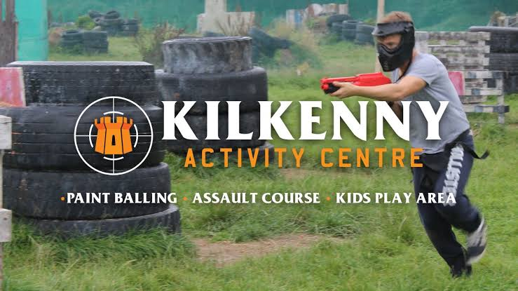 paintball shooting stag activity in Kilkenny