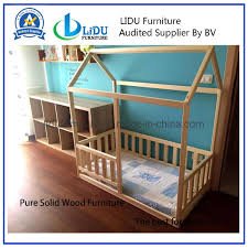 Fence Bed Toddler House Bed Kid Bed Wood Bed Children Home Waldorf Toy Children Bed Kids Bedroom Floor Bed China Fence Bed Wooden Bed Made In China Com