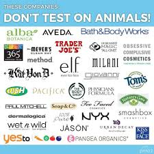 makeup brands who do test on s