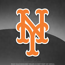 New York Mets Logo Vinyl Decal Sticker Mlb 4 And Larger Sizes Glossy Ebay