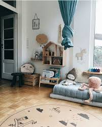 round area rug for baby girl s nursery