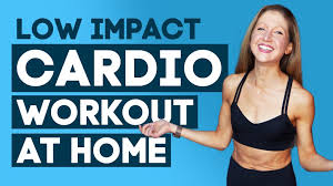 low impact cardio workout at home high