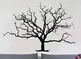 Amazon Com Decals Vinyl Wall Decal Sticker Bare Tree 3 404 56x81 Home Kitchen