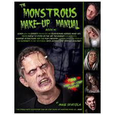 the monstrous make up manuals ps