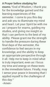 a prayer before studying for exams prayer for students exam