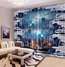Luxury 3d Blackout Window Curtains For Living Room Kids Bedroom Drape Office Hotel Wall Tapestry Cortinas Dormit Home Decoration Curtains Aliexpress