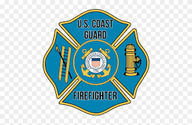 Us Coast Guard Firefighter Window Decal Coast Guardsman S Manual By Jim Dolbow Free Transparent Png Clipart Images Download
