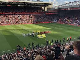 anfield section l12 home of liverpool fc