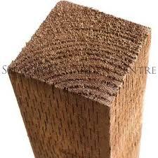 Grange 2 4m Timber Post