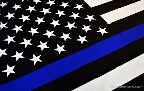 thin blue line flag wallpaper 57 images
